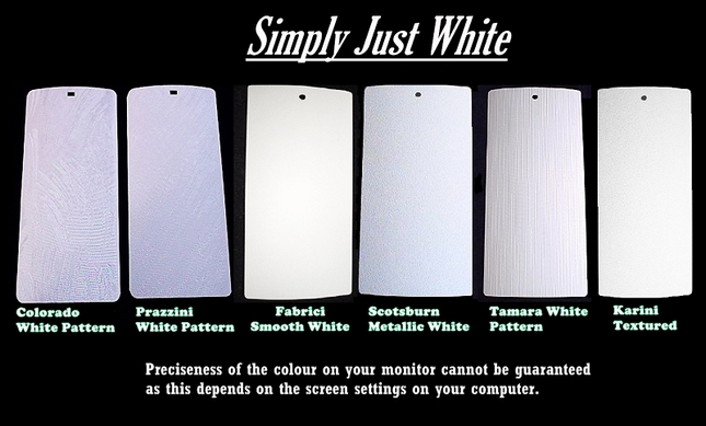 Simply White PVC Vertical Blinds