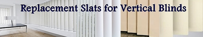 Replacement Slats for Vertical Blinds