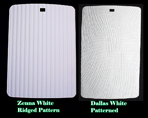 Dallas and Zenna  White PVC Vertical Blinds Range