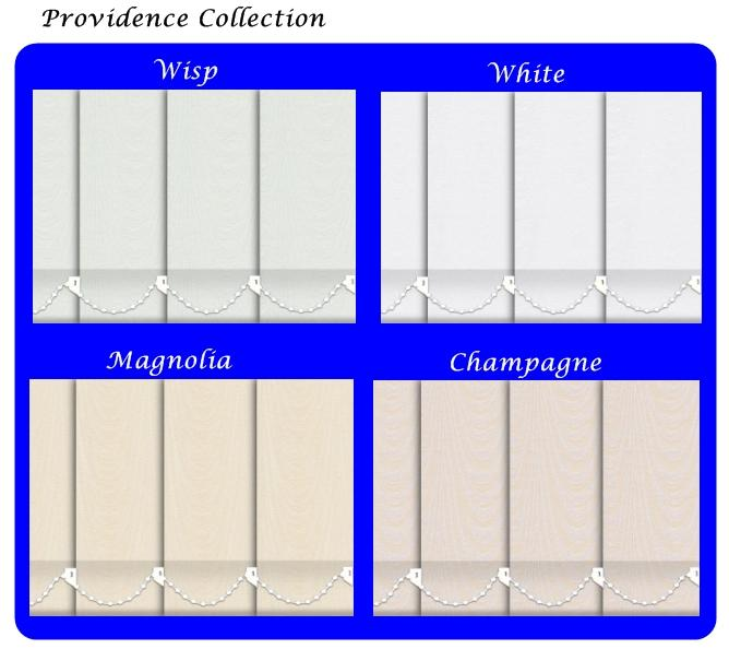 Vertical Blinds made to measure providence collection