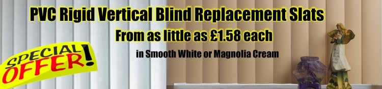 PVC Vertical Blinds Replacement Slats