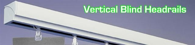 Vertical Blinds Headrail picture