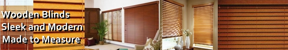 Wooden Blinds Made to measure